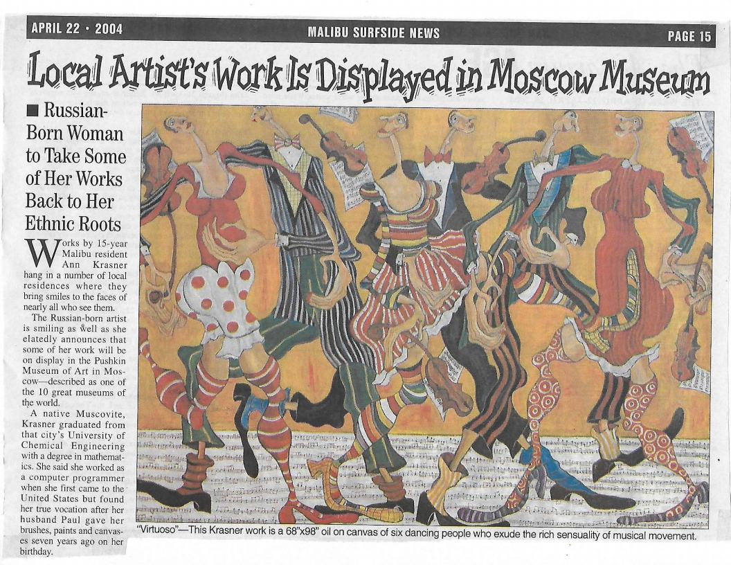 Local Artist Work is Displayed in Moscow Museum - Malibu Surfside Newsjpg_Page1